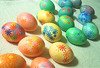 How to Dye Wooden Easter Eggs, a workshop in Zlatograd